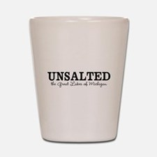 Michigan UNSALTED Shot Glass