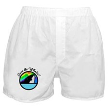 Save the Whales Boxer Shorts
