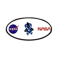 Sts 107 Commemorative Patches