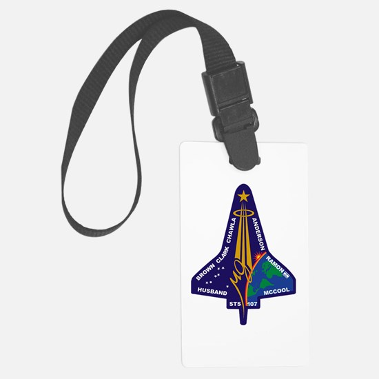 STS 107 Luggage Tag