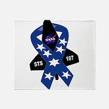 STS 107 Commemorative Throw Blanket