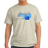 Race circuit Mens Light T-shirts