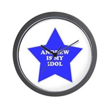 Andrew Is My Idol Wall Clock