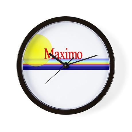 Maximo Wall Clock