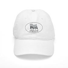 Pug GRANDPA Baseball Cap