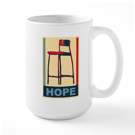 Invisible Obama Hope Large Mug