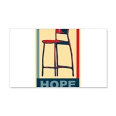Invisible Obama Hope Wall Decal
