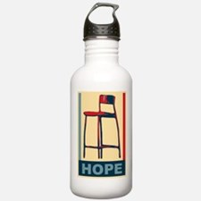 invisible obama hope Water Bottle