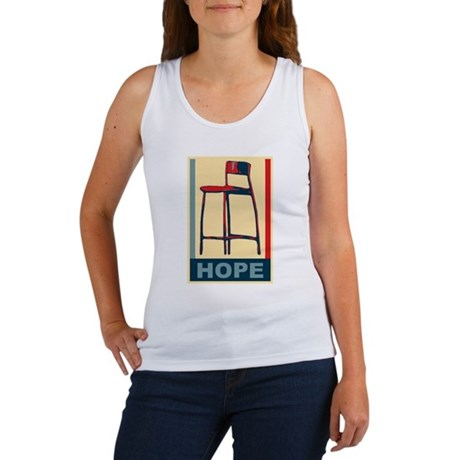 invisible obama hope Women's Tank Top