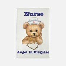 Nurse - Angel in Disguise Rectangle Magnet (10 pac