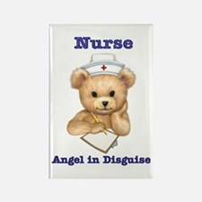 Nurse - Angel in Disguise Rectangle Magnet