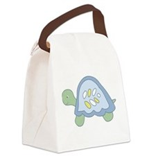 Turtle Reef Turtle Canvas Lunch Bag
