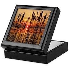 Sun At Dawn Keepsake Box