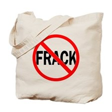 No Fracking Tote Bag