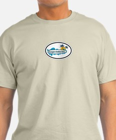 Golden Isles GA - Oval Design. T-Shirt