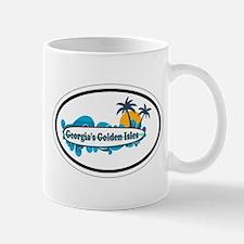Golden Isles GA - Oval Design. Mug
