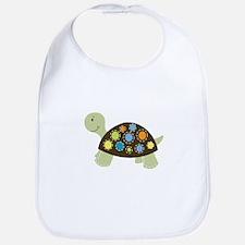 Colorful Turtle Bib