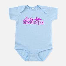LADY BOWHUNTER Infant Bodysuit