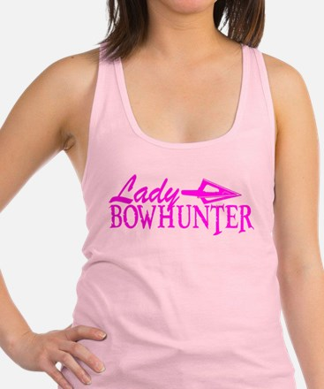 LADY BOWHUNTER Racerback Tank Top