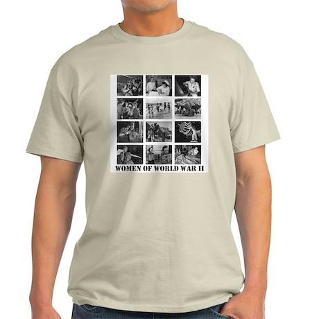 Women of WWII Ash Grey T-Shirt