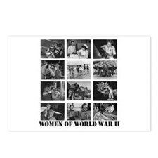 Women of WWII Postcards (Package of 8)