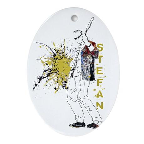Stefan Ornament (Oval)