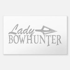 LADY BOWHUNTER Decal
