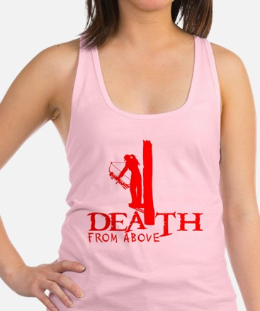 GIRL BOWHUNTER Racerback Tank Top