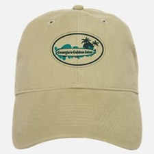 Golden Isles GA - Oval Design. Baseball Baseball Cap