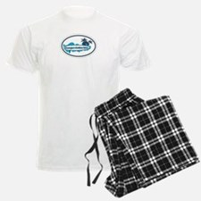 Golden Isles GA - Oval Design. Pajamas