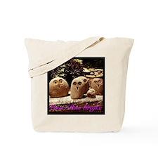 Rock Owl Family Tote Bag