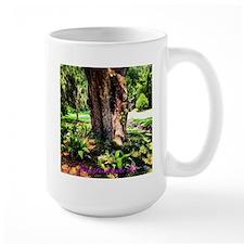 Southern Oak with flora Mug