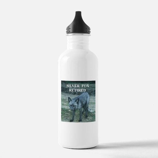 Silver Fox Retired Water Bottle