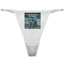 Silver Fox Retired Classic Thong