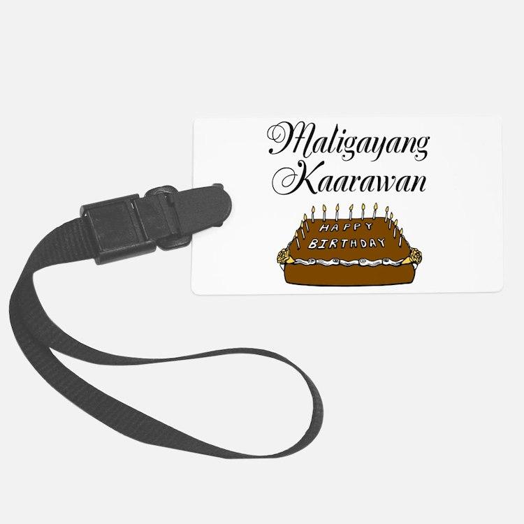 Happy Birthday (Tagalog) Luggage Tag