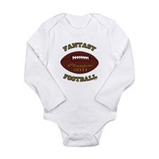 Fantasy Football Champion 2011 Long Sleeve Infant