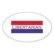 Libertarian Decal