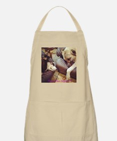 Two Dogs Sleeping Apron
