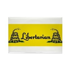 Libertarian Rectangle Magnet (10 pack)