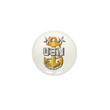 Navy - CPO - MCPO Pin Mini Button (10 pack)