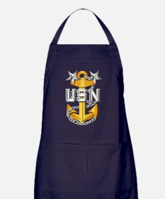 Navy - CPO - MCPO Pin Apron (dark)