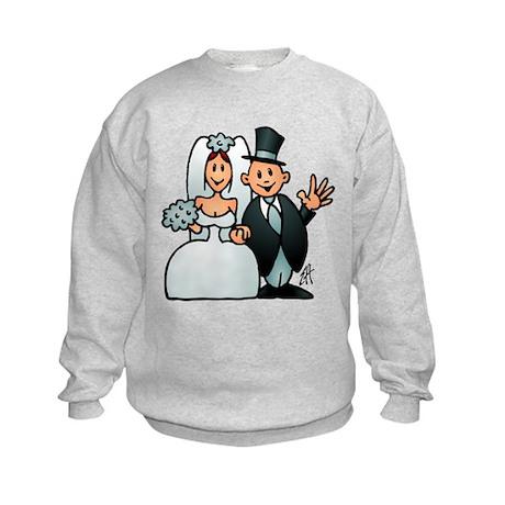 Wonderful wedding Kids Sweatshirt