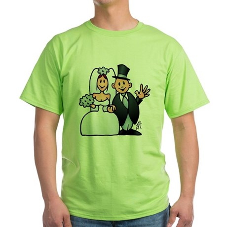 Wonderful wedding Green T-Shirt