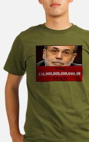 Ben Bernanke 16 Trillion T-Shirt