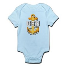 Navy - CPO - CPO Pin Infant Bodysuit