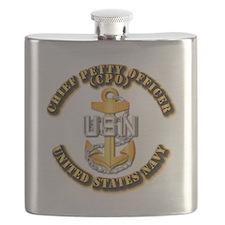 Navy - CPO - CPO Flask