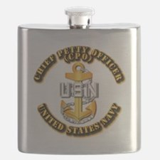 Navy - CPO - CPO Flask