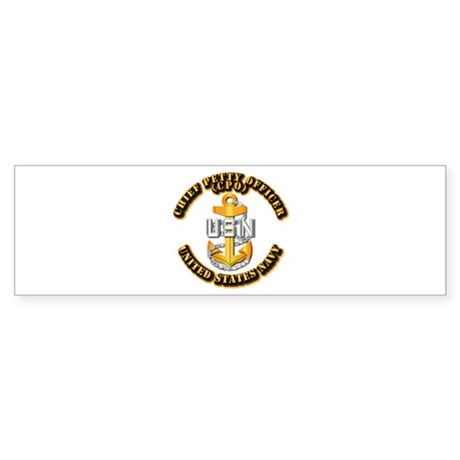 Navy - CPO - CPO Sticker (Bumper)