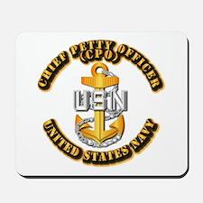 Navy - CPO - CPO Mousepad