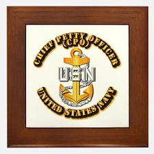 Navy - CPO - CPO Framed Tile